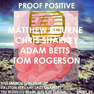 proof positive march MATTHEW